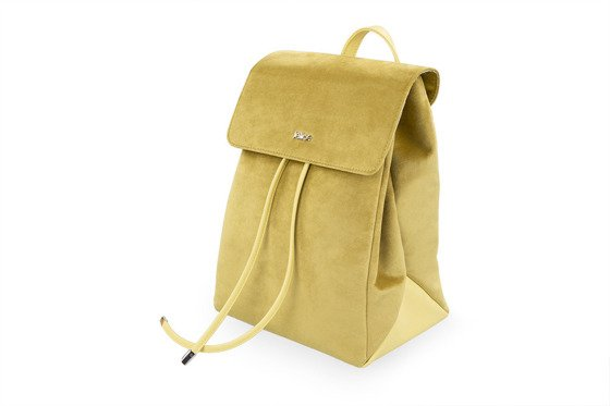 Backpack LAGO FB07- yellow