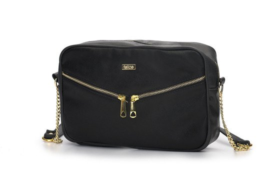 Crossbody Messenger bag FB01 black