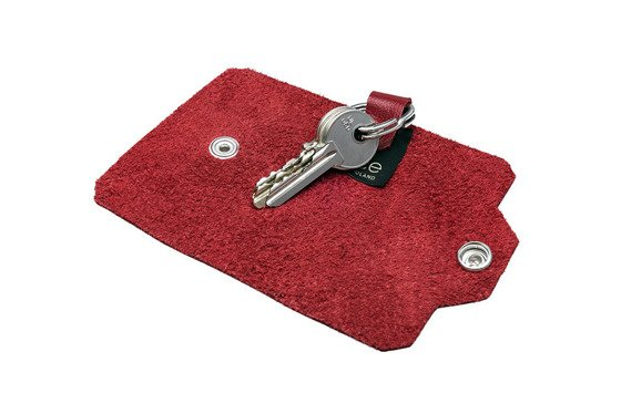 Leather men's key holder FELICE FA11 RED