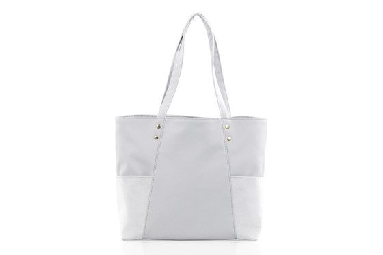 SHOPPER BAG FB03 BONITA LIGHT GREY