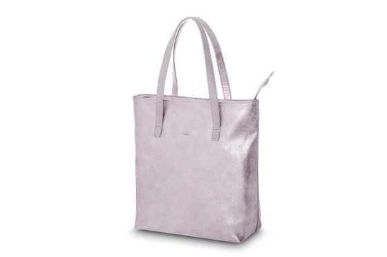 Shopper bag Verona pink gold