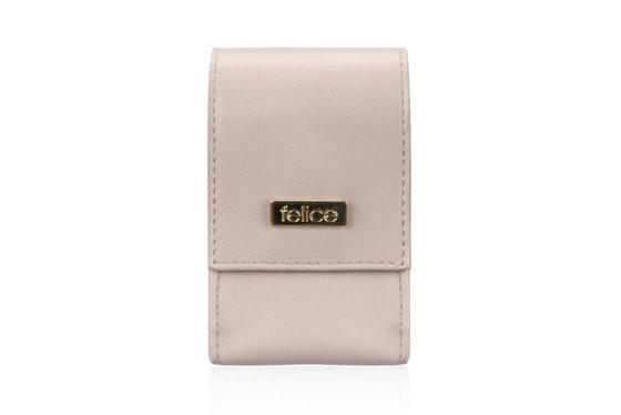 WOMEN'S ECO LEATHER CIGAR CASE FELICE FA14 SLIM POWDER PINK