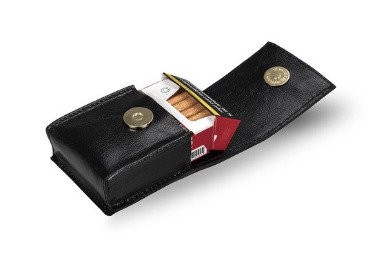 WOMEN'S GENUINE LEATHER CIGAR CASE FELICE FA14 STANDARD DEEP RED