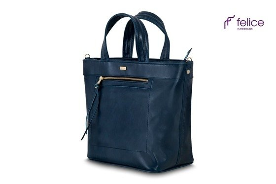 Women's shoulder bag Della navy