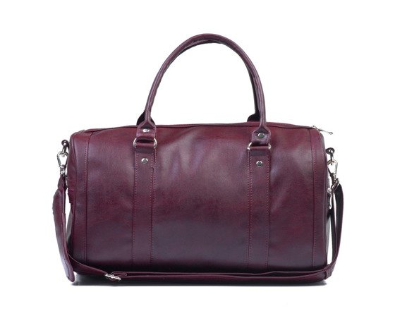 Women's weekend bag NANA maroon